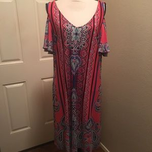 MSK multi colored dress